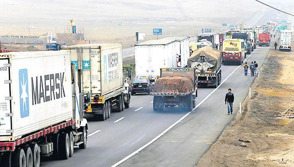 El objetivo de la medida es reducir los accidentes en la Panamericana Sur. (Dante Piaggio / El Comercio)