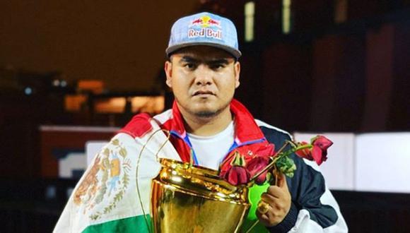 Aczino se coronó campeón de la FMS Internacional. De esta forma, el mexicano se despide de los escenarios de freestyle (Foto: Instagram)