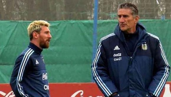 """Edgardo Bauza sobre Lionel Messi: """"Es muy fácil dirigirlo"""""""