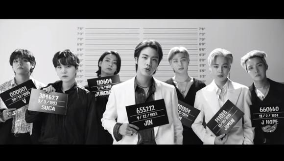 """BTS estrenó """"Butter"""", su nuevo sencillo. (Foto: Captura de video)"""