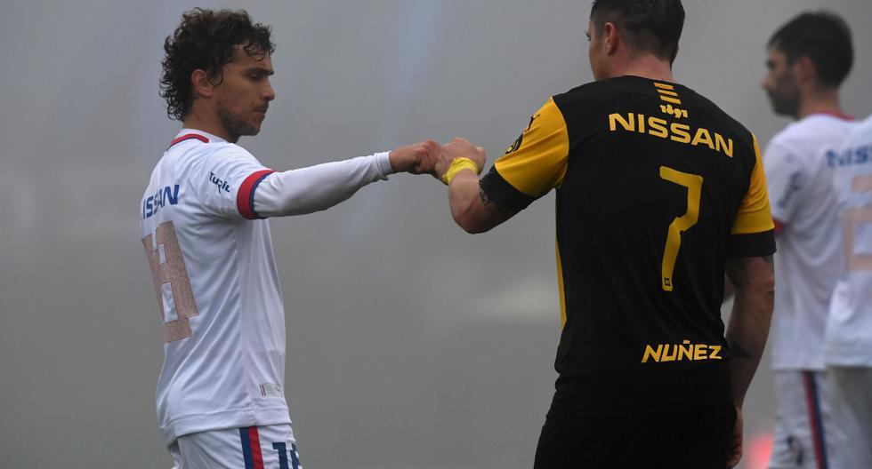 Nacional empató 1-1 contra Nacional en el clásico uruguayo | Foto: AFP / PABLO PORCIUNCULA