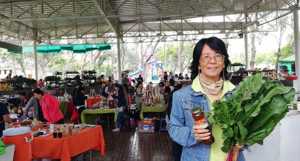 Silvia Wú, la pionera de las ferias ecológicas. (Foto: Samantha Aguilar)