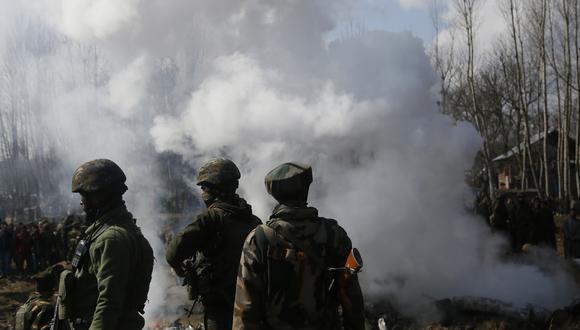 Las tensiones escalan en la frontera de Cachemira entre India y Pakistán. (Foto: AP)