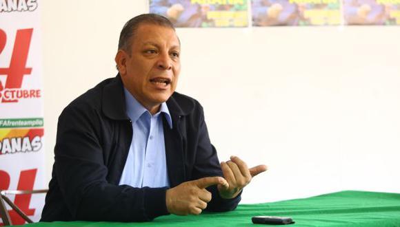 Marco Arana cuestionó que Segundo Tapia intente usar su cargo en Comisión de Ética para sancionar a legisladores opositores a los proyectos de Fuerza Popular. (Foto: El Comercio)