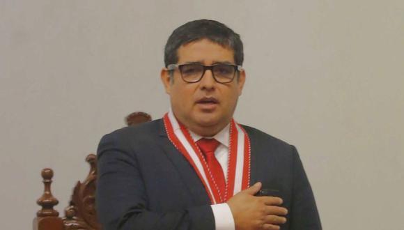 Víctor Rodríguez Monteza y personal de su despacho se reunieron con la secretaria general del JNE para consultar sobre la carga que deberán ver desde el lunes 28 de junio. (Foto: Radio Onda Azul)