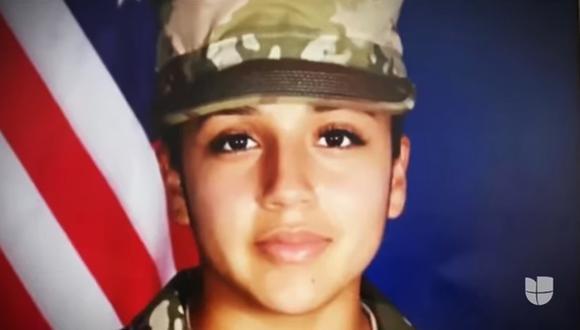 Vanessa Guillén había desaparecido en abril en la base militar Fort Hood, en Texas. (Captura de video).
