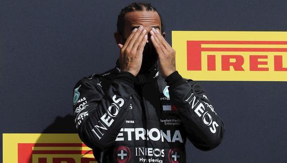 Lewis Hamilton era líder en el GP de Italia 2020. (Foto: EFE)