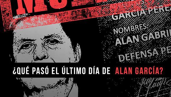 El periodista José Vásquez Cárdenas realizó una crónica minuciosa sobre la muerte del expresidente Alan García en su nuevo libro. (Foto: Difiusión  Mitin)