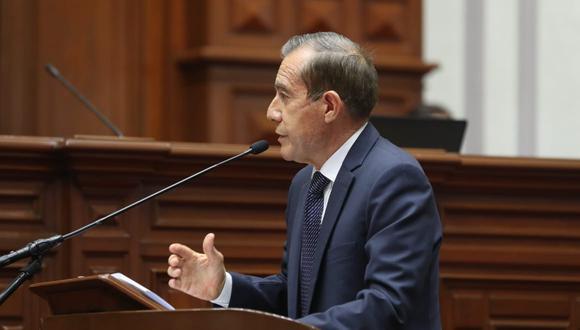 El Gabinete liderado por Walter Martos obtuvo el voto de confianza este martes, tras una larga jornada del pleno del Congreso. (Foto:  PCM)