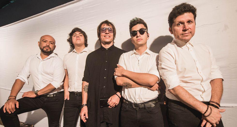 Hugo Ortiz (batería), Juan Pablo del Águila (bajo), Salim Vera (vocalista), Luis Benzaquen (guitarra) y Manolo Hidalgo (guitarra). (Foto: Francisco Medina)