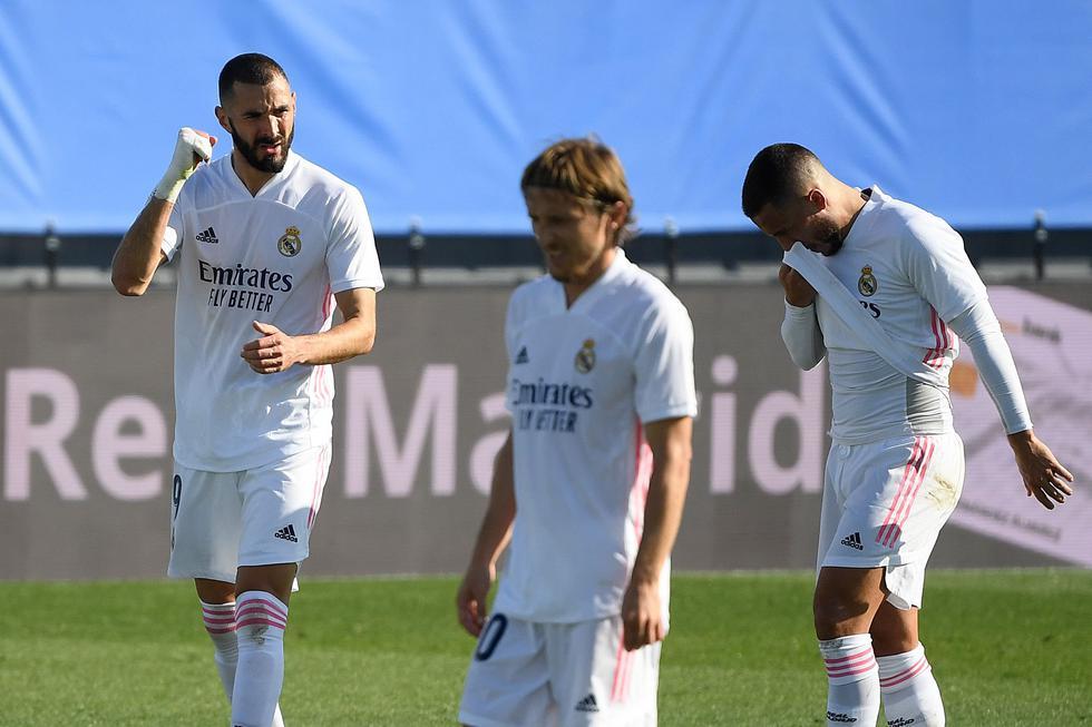 Karim Benzema convirtió el 2-0 a favor del Real Madrid