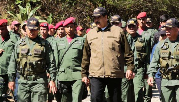 """Colombia sufrirá una """"derrota aplastante"""" si invade Venezuela. (EFE)"""