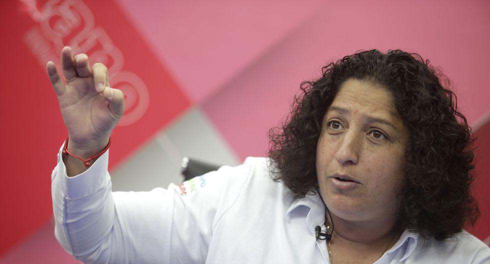 Fabiola Muñoz, ministra del Ambiente, considera que esta reducción en la contaminación es positiva. (Foto: Andina)