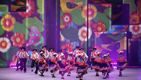Así fue la ceremonia de bienvenida a Perú en Toronto 2015. (Foto: EFE)