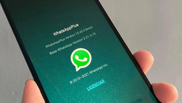 ¿Te ha llegado un mensaje de que WhatsApp cerrará tu cuenta de WhatsApp Plus? (Foto: MAG)