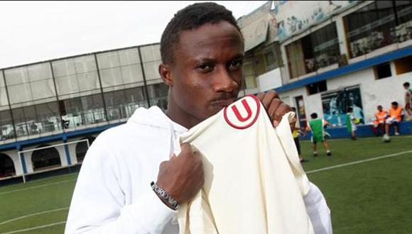 Tunde Enahoro jugó en Universitario en 2012. (Foto: GEC)