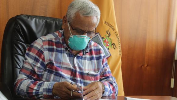 Mediante ordenanza regional evalúan entregar pulsímetros por el COVID-19 (Foto: Gobierno Regional de Lambayeque).