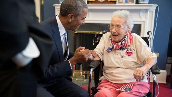 Veterana de guerra más longeva de EE.UU. murió a los 108 años
