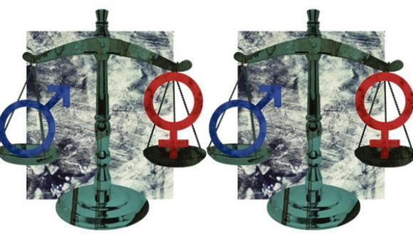 """""""La lucha por la igualdad entre hombres y mujeres se juega también en las mesas de diálogo"""". (Ilustración: Giovanni Tazza)"""