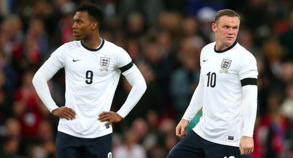 Perú-Inglaterra será para probar dupla Rooney-Sturridge