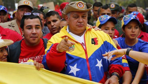 Venezuela: Cancelan visa estadounidense a Diosdado Cabello