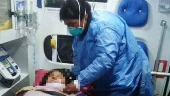 Apurimac: Niña de 13 años muere y su hermana queda grave tras ser impactadas por rayo en Andahuaylas. (Foto: Difusión)