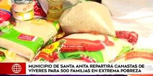 Coronavirus en Perú: Municipalidad de Santa Anita distribuirá canastas de alimentación a 500 familias