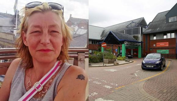 Dawn Sturgess murió en un hospital de Salisbury luego de ser contaminada con el agente neurotóxico Novichok. (Foto: Facebook/AFP)
