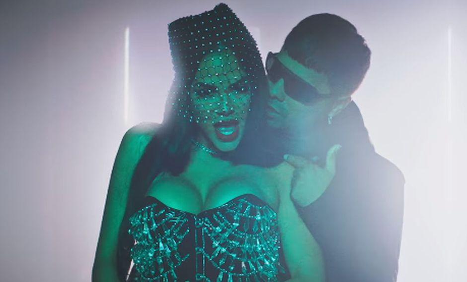 "Natti Natasha estrenó eN YouTube el video del remix de su canción ""Deja tus besos"". (Foto: Captura de video)"