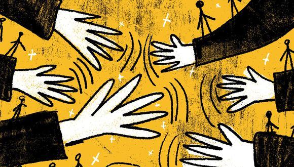 """""""Pensar que el cambio del capítulo económico de la Constitución lo hace todo parece un error; también lo es pretender gobernar arrinconando a la empresa privada, que ha sido el motor del crecimiento"""" (Ilustración: Giovanni Tazza)."""