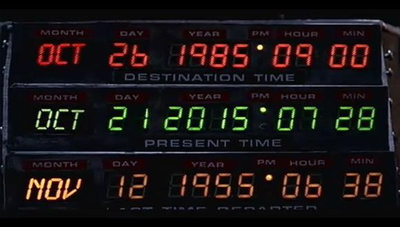 """""""Volver al futuro II"""" llega al 2015 este miércoles"""