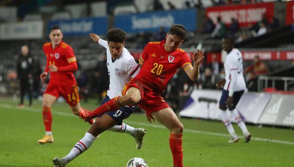 Estados Unidos empató 0-0 con Gales en duelo amistoso por la fecha FIFA. (Foto: AFP)