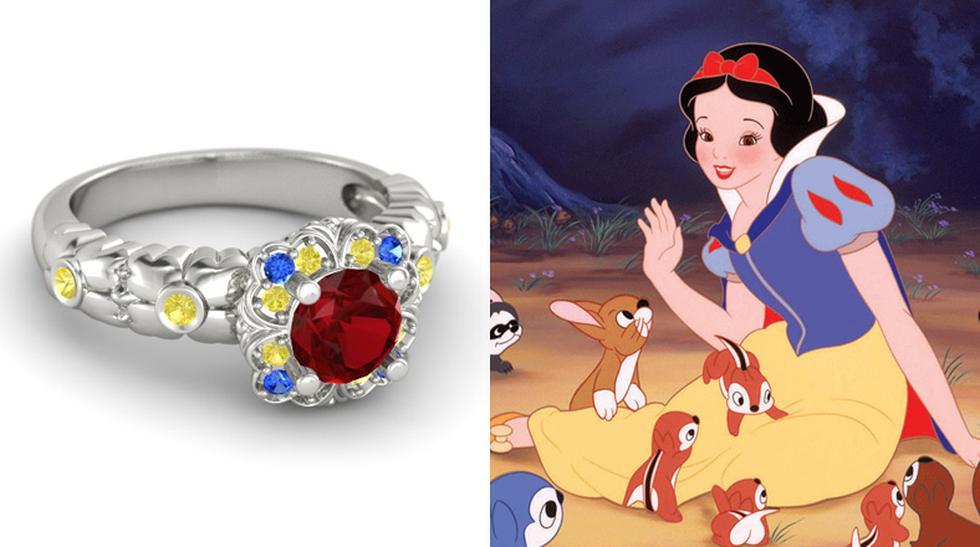 Descubre estos anillos de compromiso inspirados en Disney - 6