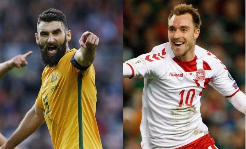 Dinamarca buscará una victoria ante Australia para estar más cerca de los octavos de final. (Foto: Reuters/AP)