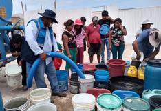 Destinan S/3.5 millones para abastecer de agua potable a familias vulnerables hasta fin de año