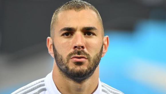 La reacción de Karim Benzema tras la victoria de Francia