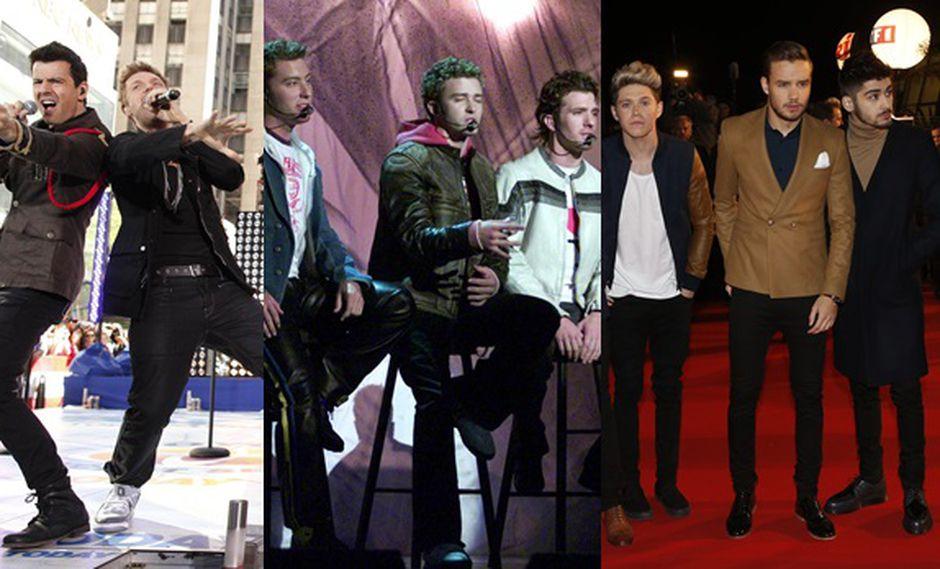 Backstreet Boys, NSync y One Direction juntos en película