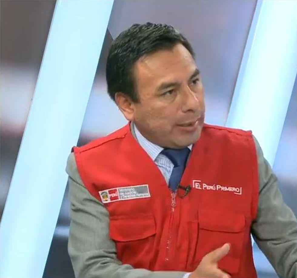 César Cárdenas Lizarbe. (Captura: JNE TV)