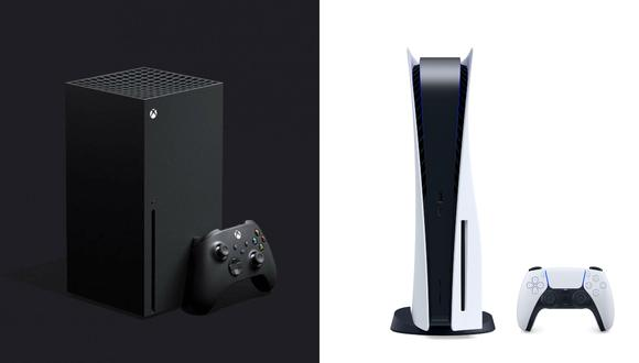 Xbox Series X (izquierda) y PlayStation 5 (derecha). (Difusión)