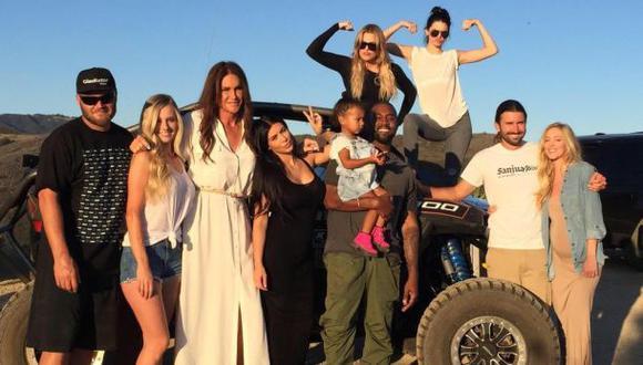Caitlyn Jenner celebró el Día del Padre y compartió esta foto