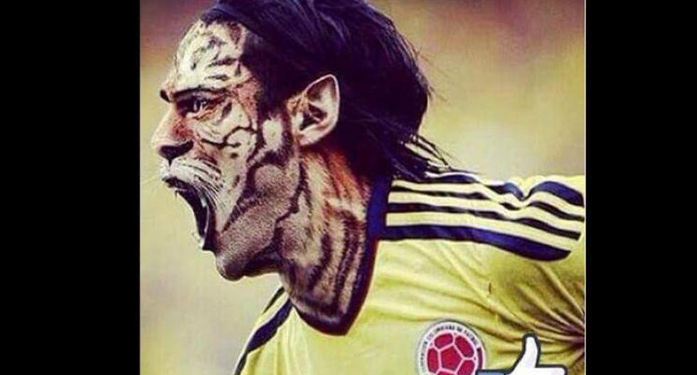 Van Gaal y los memes tras los dos goles de Falcao con Colombia - 20