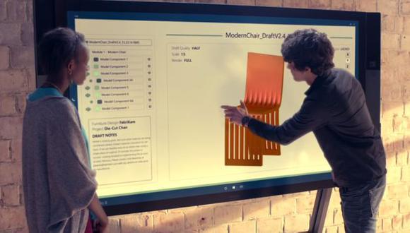 El Surface Hub de Microsoft llegará en septiembre