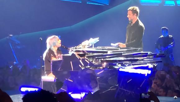 Lady Gaga y Bradley Cooper. (Fuente: YouTube)