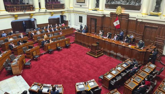 Pleno del Congreso sesionará este 5 de agosto de forma presencial. (Foto: archivo Twitter Congreso)