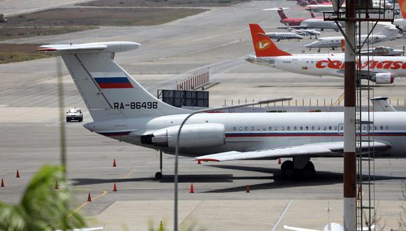 "Rusia retira a sus ""técnicos"" militares de Venezuela, según la embajada rusa en Caracas. (Reuters)."