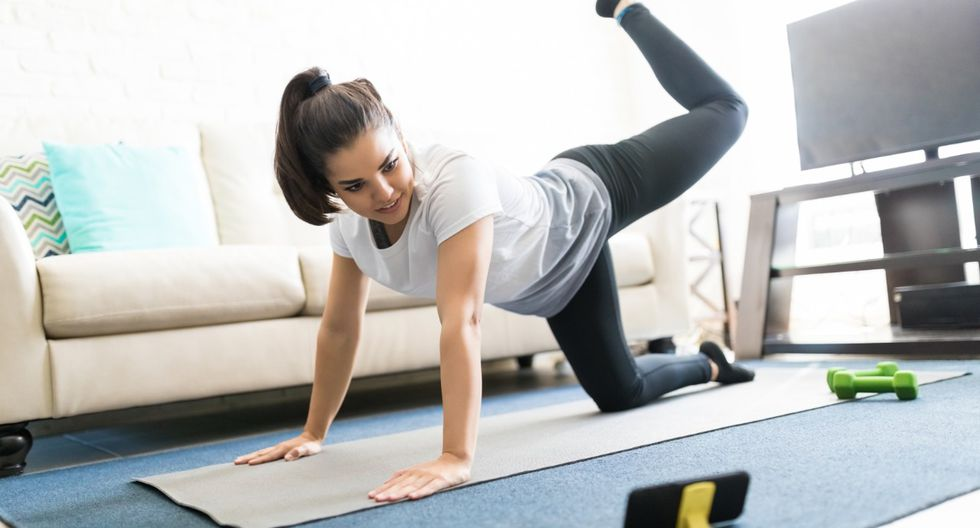 Recuerda: es necesario hacer ejercicio mínimo 3 veces por semana.