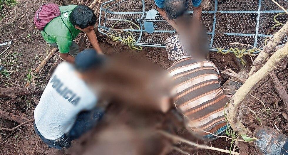Los cuerpos de las víctimas fueron hallados esta mañana por rescatistas de la Policía, el Ejército y los lugareños. (Foto: GEC)