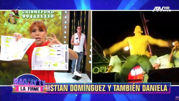 Christian Domínguez se habría casado por segunda vez sin estar divorciado, según Magaly Medina. (Imagen: ATV)