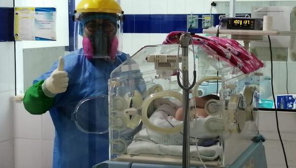 Áncash: treinta y tres bebés prematuros regresaron con sus madres vencedoras del COVID-19