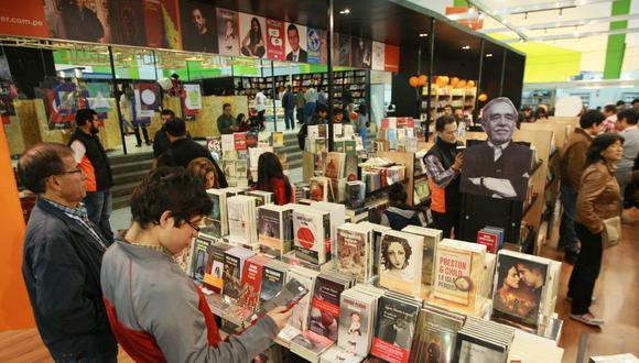 Feria Internacional del Libro de Lima, 2015 (Foto referencial: El Comercio)